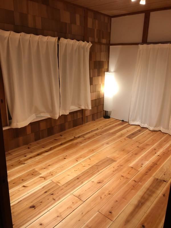 内装工事一式 施工事例 フローリング・カーテン