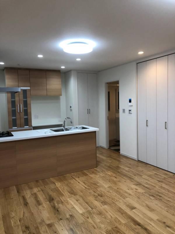 内装工事一式 施工事例 システムキッチン